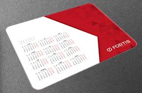 mata reklamowa zgrzewana z kalendarzem